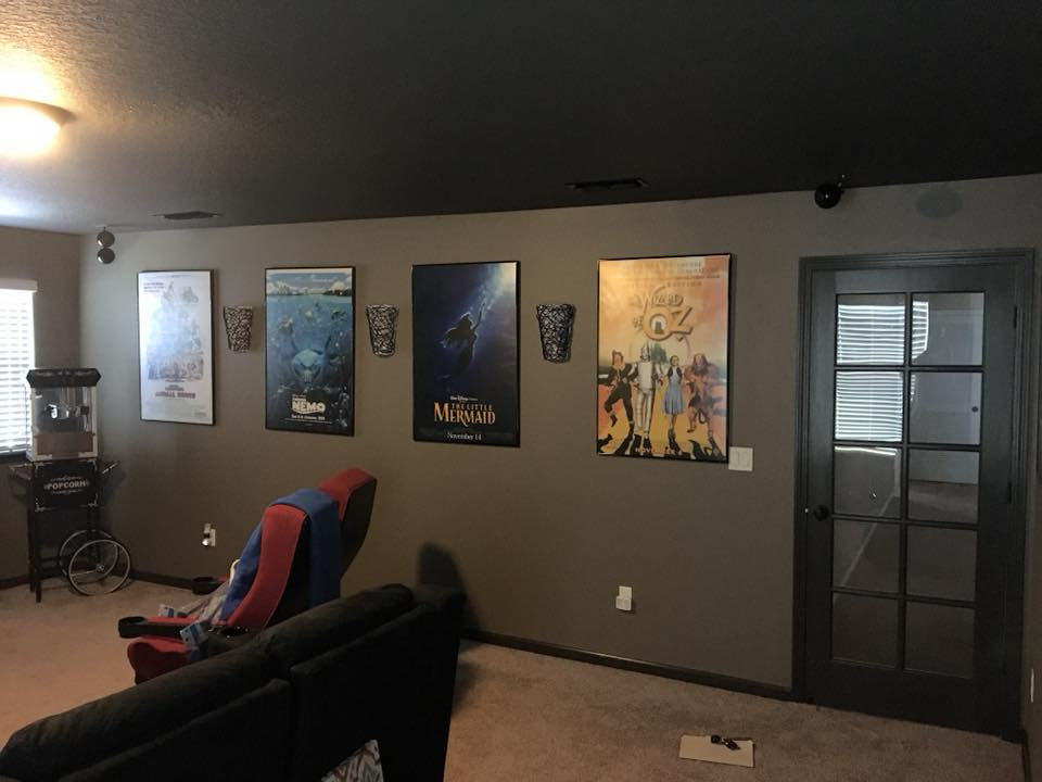 Theatre Room - Remodeling