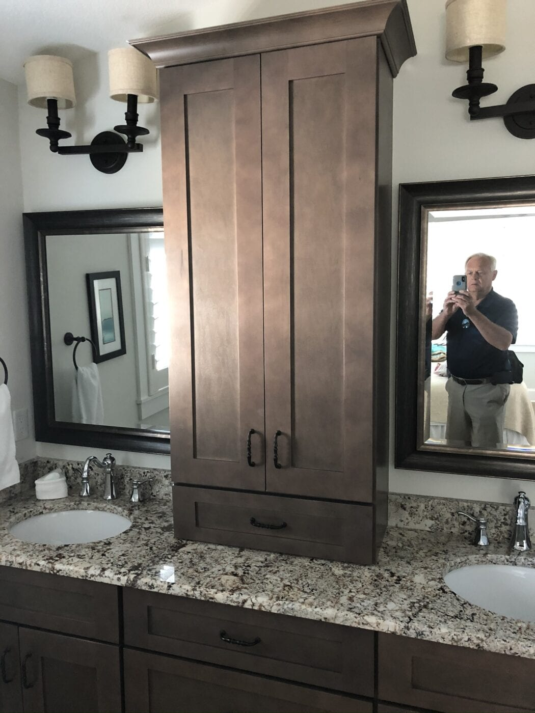 bathroom remoel vanity scaled - Enjoy the Bathroom of Your Dreams with Bathroom Remodeling in Nocatee, Florida